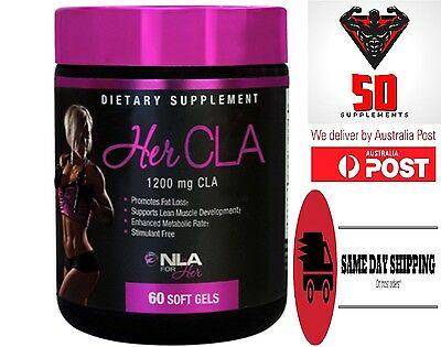 NLA FOR HER ( HER CLA ) 1200mg Promotes Fat Loss, Supports Lean Muscle Develop