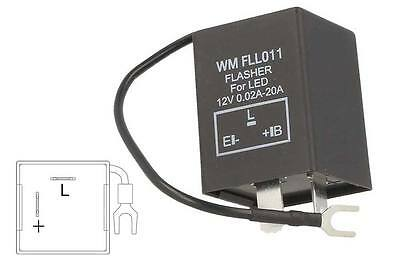 A2Zworld Flasher Led Lampeggiatore Rele Relay 3 Pin Negativo Con Filo Fll011 12V
