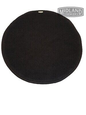 Genuine AGA Cooker Lid Covers /Chefs Pads /Lid Protector in Black.