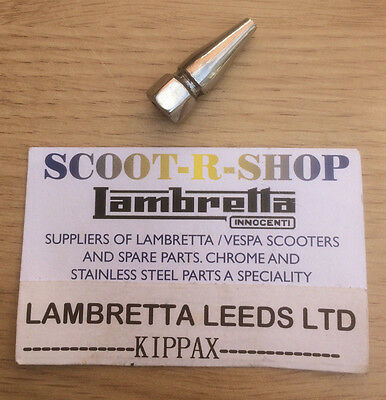 Lambretta  6 Mm Polished Stainless Steel Pike Nut. Brand New
