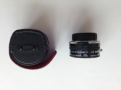 Soligor Auto Tele Converter 2X To Fit M/MD Lens Made in Japan