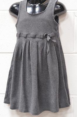 Girls Grey Sleeveless School Dress UK Age 4-5 Yrs (110cm) from Marks and Spencer