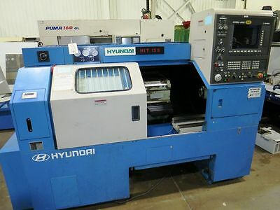 Hyundai Hit-15S 2-Axis Cnc Turning Center Lathe