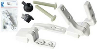 Jabsco Toilet Seat Hinges Kit Compact Sanitary Accessories Boat Boating