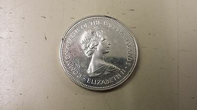 Commonwealth of the Bahama Islands Elizabeth II 1971 Silver Coin
