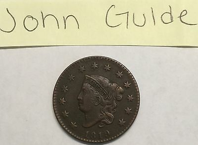 1819 1C Coronet Head Large Cent