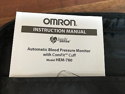 Omron HEM-780 Automatic Blood Pressure Monitor w/ Comfit Cuff  200 Total Memory