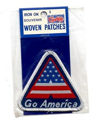 Go America USA United States Souvenir Travel Patch - Brand New - Free Shipping!