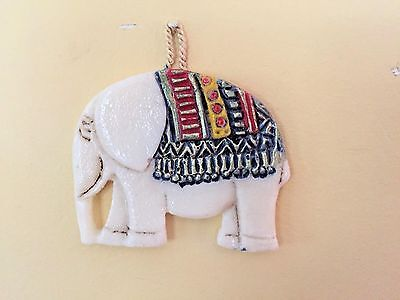 Vintage Unusual Wax Carved Elephant, Candle?