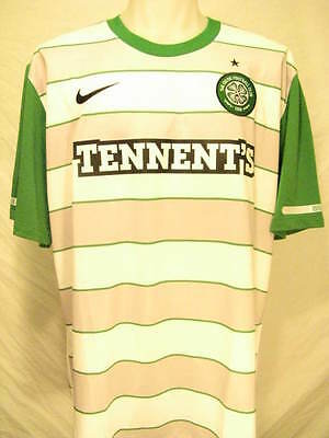free shipping 3c572 14859 CELTIC FC NIKE Dri-Fit Green Sleeves Men's Large Replica Jersey