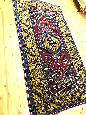 Rugs & Carpets Rare 1930-1939s Exclusive Antique 5x8ft Multi-colored Wool Pile Dowry Rug We Have Won Praise From Customers