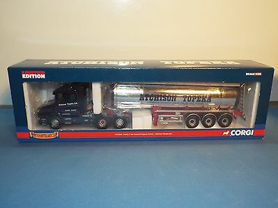 "Corgi Classics No 12814 Scania T Cab and tanker "" Topeka"" New"