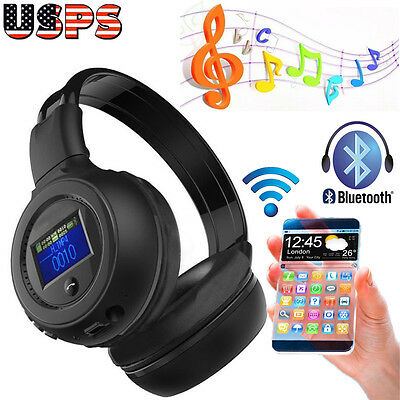 Foldable Bluetooth 3.0 Wireless Stereo Headset Headphone with Call Microphone .