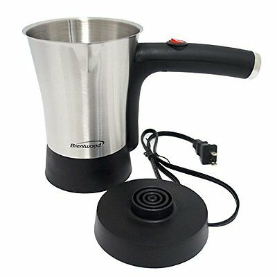 4 Cup Brentwood 800W Stainless Steel Electric Turkish Greek Coffee Maker
