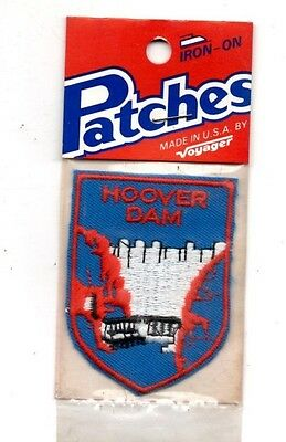 Hoover Dam Voyager Travel Souvenir Patch - Brand New - Free Shipping