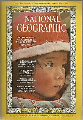 February 1964 National Geographic! vintage Coca-Cola ad!