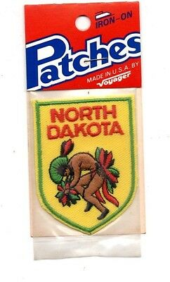 North Dakota Native Voyager Travel Souvenir Patch - Brand New - Free Shipping