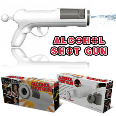 Alcohol White Shot Gun : Bar / Party Fun Drinking Game