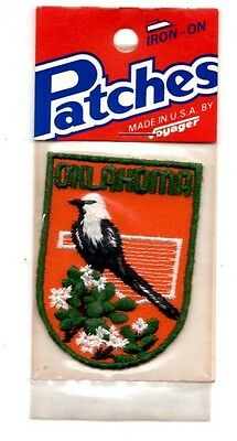 Oklahoma State Bird Voyager Travel Souvenir Patch - Brand New - Free Shipping