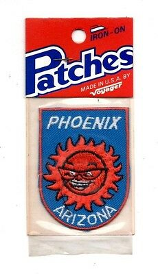 Phoenix Arizona Sun Voyager Travel Souvenir Patch - Brand New - Free Shipping