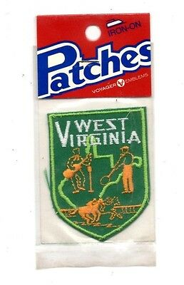 West Virginia Voyager Travel Souvenir Patch - Brand New - Free Shipping