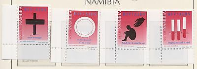 (SWB-81) 2002 Namibia 4set stamps health care MUH