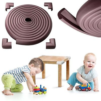 4M Baby Desk Table Edge Guard Protector Foam Strip Safety Cushion Bumper Cover