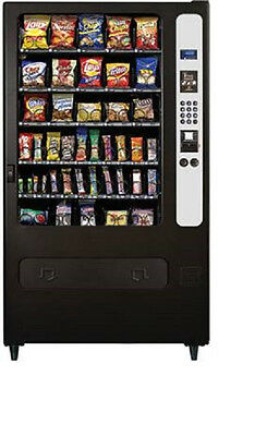 USI Mercato 5000 ivend 3509 snack vending machine used credit cards free ship