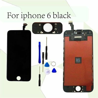 BLACK For  iPhone 6 Replacement  Front Screen LCD and Digitizer Assembly CA
