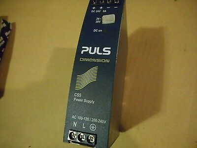 PULS Dimension CS5 Power Supply CS5.241, DC24-28V 5-4 3A