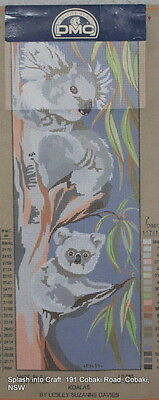 Tapestry Canvas - Clearance - Dmc - Koalas - Canvas To Be Stitched