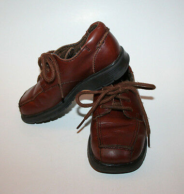 Reaction Dress Shoes, Toddler Boy US 9M, Brown, Leather