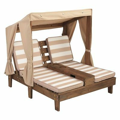 NEW KidKraft Double Chaise Outdoor Lounge