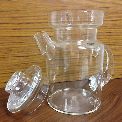 Vintage 70s boda nova glass coffee / teapot swedish retro scandinavian - kyp
