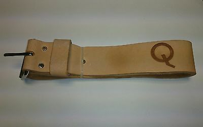 Q Tools Premium Scaffolding Leather Belt