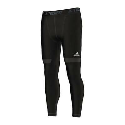adidas Tech Fit Chill Long Tight Hose Schwarz