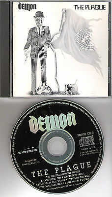 "DEMON original CD ""The plague"" 1983 pressed 1989 on Sonic Records"