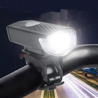 300LM XPE 3W LED Bici Bicicletta Anteriore Frontale Luci USB Ricaricabile