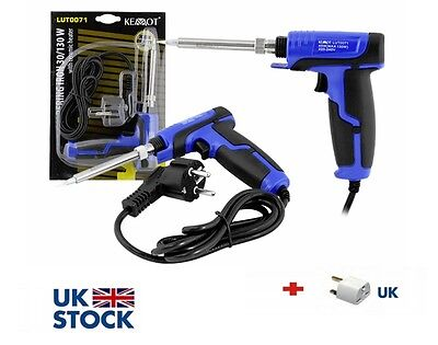 30W - 130W Electric Soldering Iron Solder Gun BLUE HQ Rohs CE !SALE!