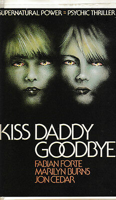 RARE Kiss Daddy Goodbye VHS Tape. Clam Shell Case AKA Revenge of the Zombie