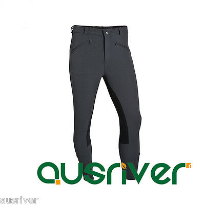 38-46 Profession Horse Riding Jodphurs Mens Equestrian Breeches Full Seat Suede