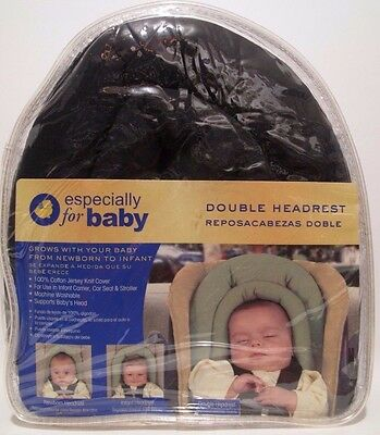 Infant Head Support Baby Double Headrest Babies 'R' Us Navy Blue #3973003 NEW