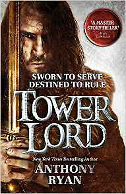 Tower Lord: Book 2 of Raven's Shadow, New, Ryan, Anthony Book