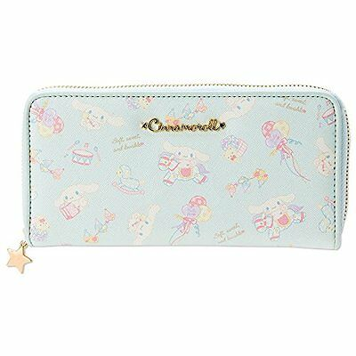 Sanrio Cinnamoroll long Zip wallet light blue