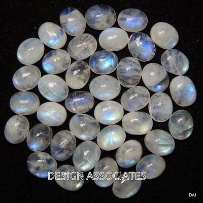 NATURAL WHITE MOONSTONE 11x9 MM OVAL CUT CALIBRATED COMMERCIAL 2 PC SET
