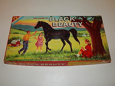 Vintage Transogram The Game of Black Beauty complete No. 3812