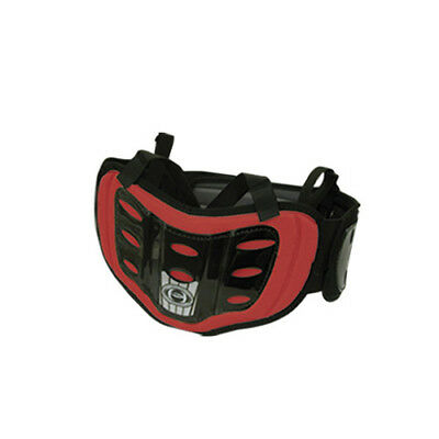 HRP K-Rib Wrap Red ATV MX Motocross Offroad Motorcycle Riding Back Kidney Belt