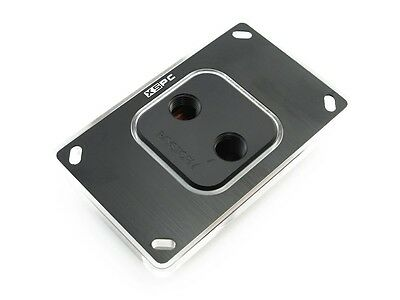 XSPC RayStorm V3 AMD AM4 Compatible WaterBlock, Black with White LEDs