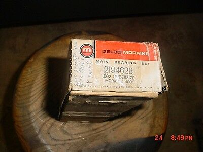 GMC 228-302 Main Bearings .002