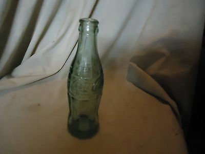 Vintage Coca Cola Embossed Raised Letter Glass Bottle Beaumont Texas From Estate